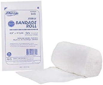 645 - Rollo de gasa para vendaje (algodón estéril LF, 4,5 x 4,1 m, 6 piezas, pieza EA, número) Dukal Corporation 645 - Dukal: Amazon.es: Electrónica