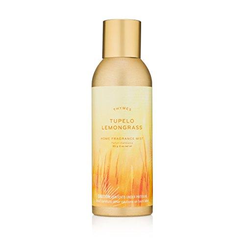 Thymes - Tupelo Lemongrass Home Fragrance Mist - Sunny Citrus Scented Room Spray - 3 (Leaf Home Fragrance Mist)