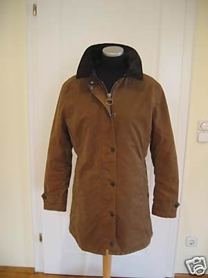 Barbour damen jacke wachs