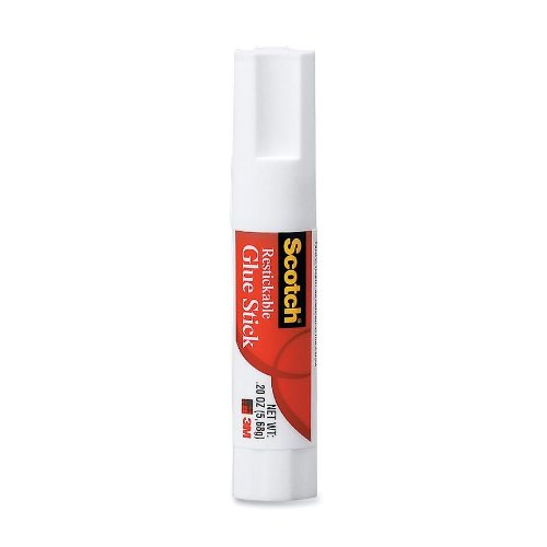 3M Scotch Clear Glue Stick 6307C