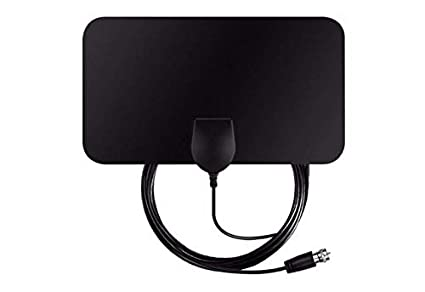 Amazon com: [Upgraded 2019] Digital Amplified Indoor HD TV