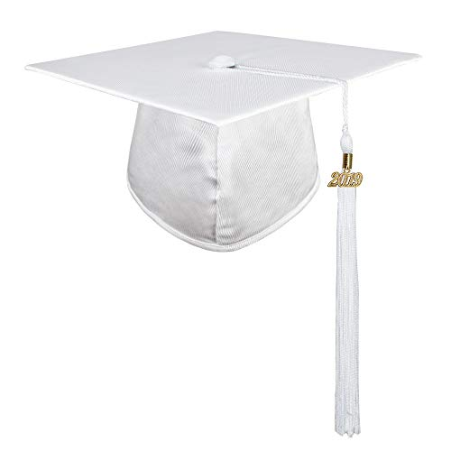 white graduation cap - 4