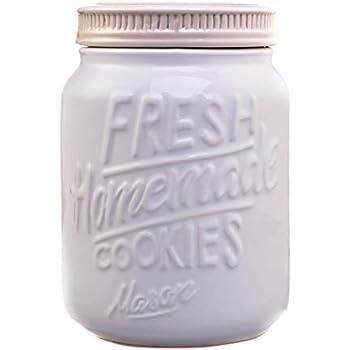 Rustic Cookie Jar Interesting Amazon Ceramic Mason Jars Cookie Jar Keep Your Cookies