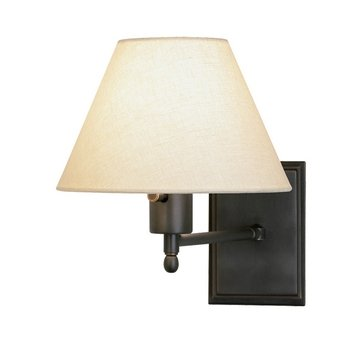 Robert Abbey Z428X One Light Wall Sconce (Abbey Arm Bronze Swing)