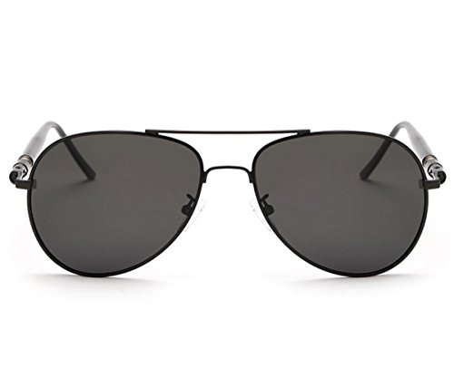 Heartisan Classic Polarized Internal Coated Lens Metal Frame Sunglasses for - Miu Lentes Miu