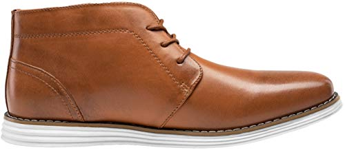 Pictures of JOUSEN Men's Chukka Boots Casual Leather 5
