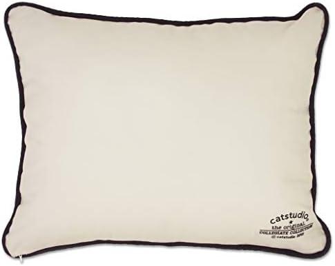 Catstudio UC Berkeley Cal Collegiate Embroidered Decorative Throw Pillow