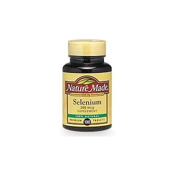 Nature Made Selenium  Mcg  Tablets