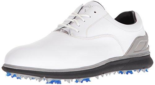 Callaway Men's Lagrange Golf Shoe, White/Black, 11.5 2E 2E US by Callaway