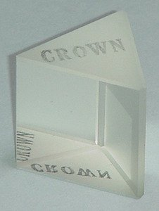 SEOH Spectrometer Prism Crown Glass For General Refraction Experiments