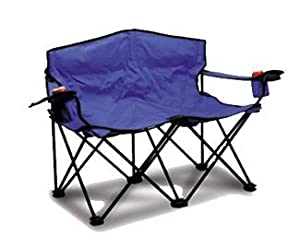 Loveseat Deluxe Portable Beach Camping Pool Side Chair Easy Fold With Carrying