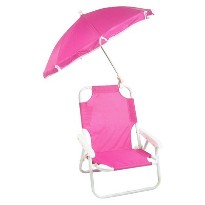 Redmon Beach Baby Umbrella Chair Hot Pink - Baby Umbrella
