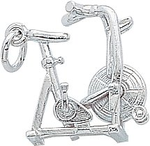 Rembrandt Charms Exercise Bike Charm