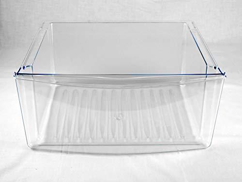 (RB) WP67001503 Refrigerator Crisper Pan Bin Clear for Whirlpool Maytag