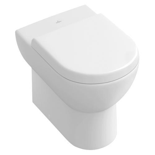Villeroy & Boch (V + B) 9M55S101 Abattant de WC avec descente lente Modè le Subway Blanc
