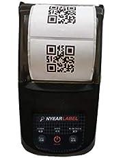 NP100 Black Bluetooth Portable Thermal Label Receipt Printer 57mm Wireless Bill Printer