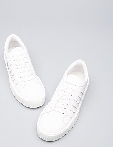Mujer FIND Botines White Blanco Walsh Knot qfttwO01