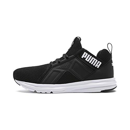 puma WN's Puma White Black Enzo Damen Laufschuhe Weave Puma wTx70qF7