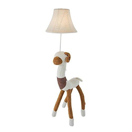 Coolfire Kids Floor Lamp, Handmade Decorative Table Lamp Bedside Desk Lamp Night Light for Bedroom Living Room Playroom (Floor Lamp, sheep) by Coolfire