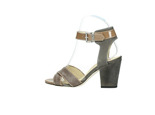 Taupe Pichu Leather 60150 Print Women's Snake Wolky pwZtqt
