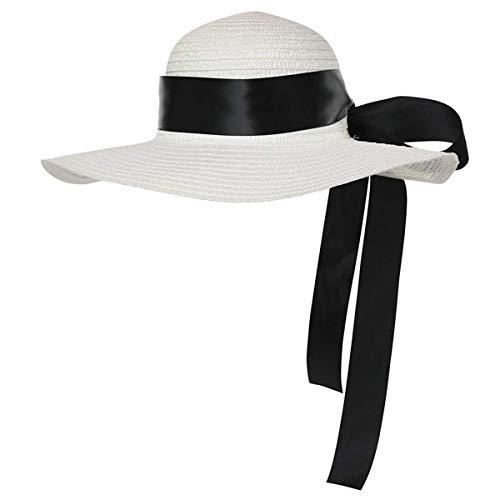 California Costumes Women's Straw Hat with Ribbon,