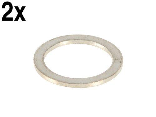 VW (AXQ engine) Oil Drain Plug Seal (set 2) GENUINE sealing ring washer gasket GENUINE VW/AUDI