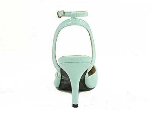 CFP - Zapatos con correa de tobillo mujer Azul