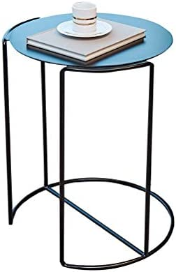 Geweldige Prijs Moderne Bank Bijzettafel Salontafel Eenvoudige Mode Creatieve Smeedijzeren Woonkamer Slaapkamer Zwart 4.11 SCGRmTW