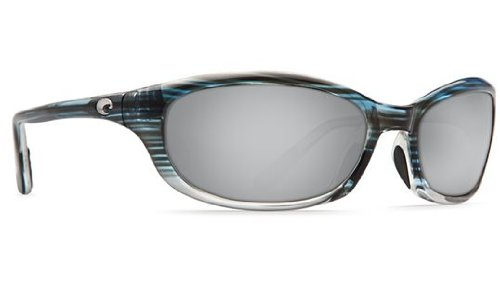 Mirror Wave 580 Glass (Costa Del Mar Sunglasses - Harpoon- Glass / Frame: Topaz Fade Lens: Polarized Silver Mirror Wave 580 Glass)