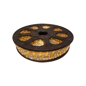Cbconcept 120vlr 65ft Y Yellow 65 Feet 120 Volt 2 Wire 1 2 Inch Led
