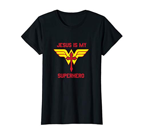 My Superhero - Womens Jesus is my Superhero Christian