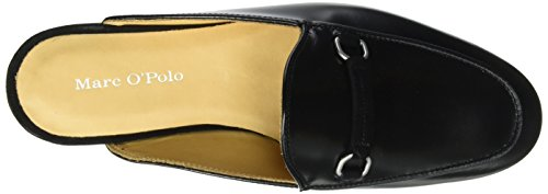 Marc O'Polo 70113873701102 Sabot - Mules Mujer Schwarz (Black)