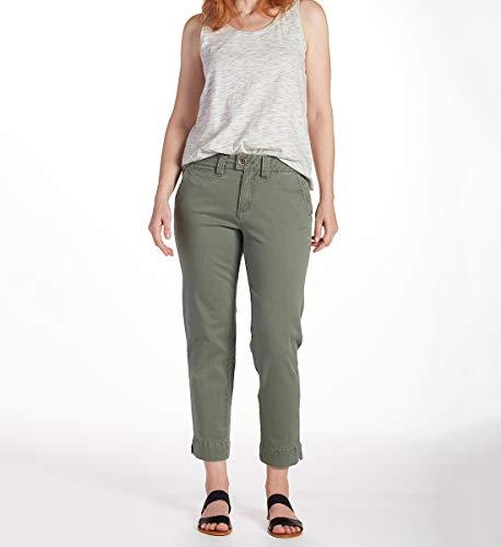 - Jag Jeans Women's Creston Ankle Crop, Jungle Palm 16