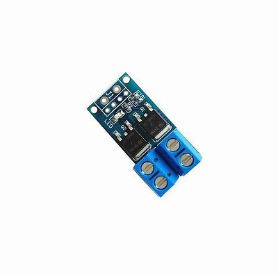 Trigger Switch Driver Module Dual MOS Tube PWM Electronic Switch Panel Board (Siren Driver Module)