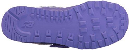 New Balance Unisex-Kinder Kv574 Sneakers Mehrfarbig (Bleached Violet)