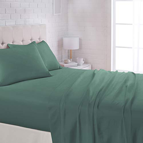 AmazonBasics Lightweight Super Soft Easy Care Microfiber Sheet Set with