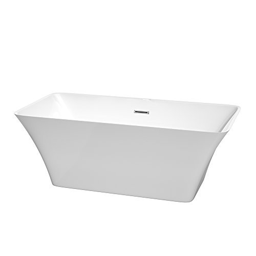 Wyndham collection tiffany soaking tub for Best soaker tub for the money