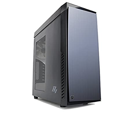 Zalman R1 Midi-Tower Negro Carcasa de Ordenador - Caja de Ordenador (Midi-Tower, PC, ATX,Micro-ATX,Mini-ITX, Negro, Fondo, 1x 120 mm)