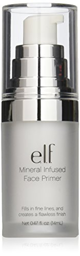 e.l.f. Mineral Infused Face Primer, Use as a Base for Your Makeup, Refines Your Complexion, 0.47 Fluid Ounces
