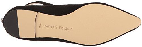 Ivanka Trump Womens Tramory Black Suede IU2Ml
