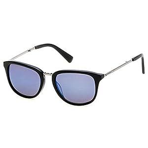Sunglasses Kenneth Cole New York KC 7196 KC7196 02D matte black / smoke polarized