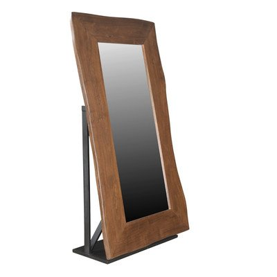 Coast to Coast Imports 93435 Large Floor Mirror - Pack of 2 Carton44; Brown & Black - 42 x 17 x 78 in. - 2 CartonsSpecifications Color: Brown & Black Dimension: 78 H x 42 W x 17 D - mirrors-bedroom-decor, bedroom-decor, bedroom - 311BvAxEPbL. SS400  -