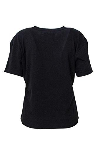 Donna Nero T shirt Pyrex Crop Mainapps qH16OROW