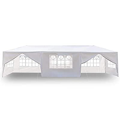 Lomanda 3 x 9m Eight Sides Two Doors Waterproof Tent with Spiral Tubes (5-10 Days Delivery) : Garden & Outdoor