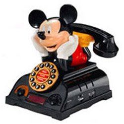 TeleMania 025578 Mickey Talking Alarm Clock by TeleMania