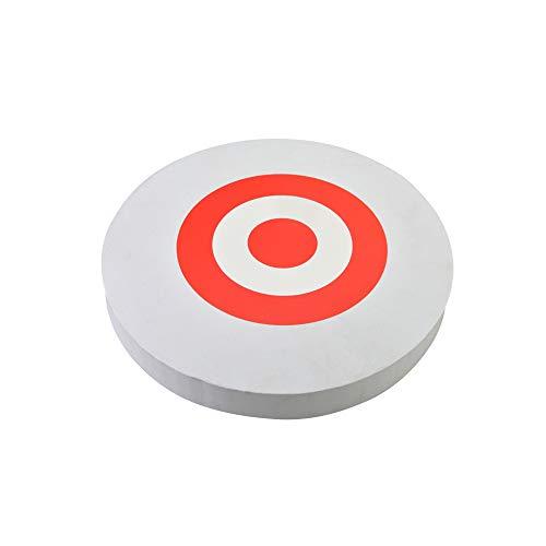 SHARROW Eva Portable Recurve Bow Target Circular Foam Board Removable Target 1PC (White)