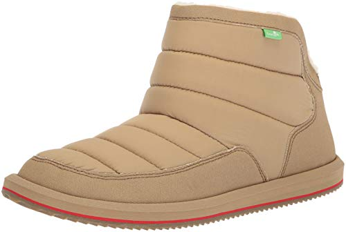 Sanuk Chill Puff M Boot Women's 06 N Tan Us Ankle xxB7Hwrq