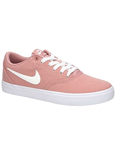 Solar Zapatillas 611 de Nike Check Skateboarding White Pink White Summit Black Rust para SB Multicolor Mujer Wmns Cnvs tqtAXTw