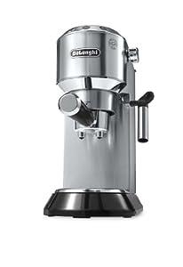 DeLonghi EC 680.M Dedica Espressomaschine (1450 Watt, 1 Liter, 15 bar) silber