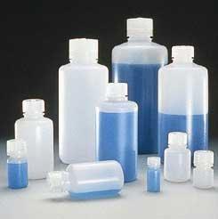 (Boston Round Bottles, High-Density Polyethylene, Narrow Mouth 15mL (0.5 oz) (Pack of 12))